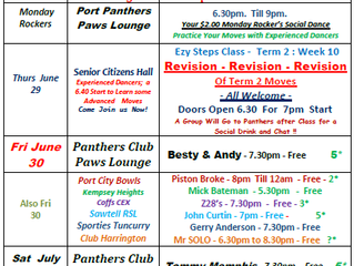 Whats on 26 June