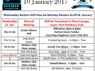 Whats On 10 Jan 2017