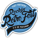 Port Panthers Rockin' RetroFest Logo