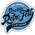 Port Panthers Rockin' RetroFest Logo