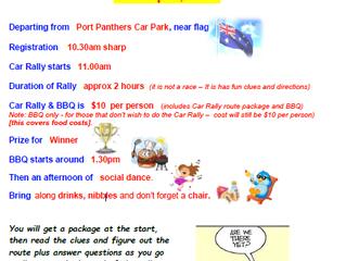 Club Car Rally 30 April 2017
