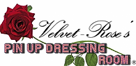 Velet Rose's Pin Up Dressing Room Logo