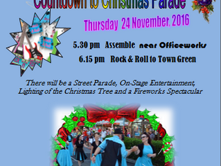 Christmas Parade TODAY 5:15pm Near Officeworks