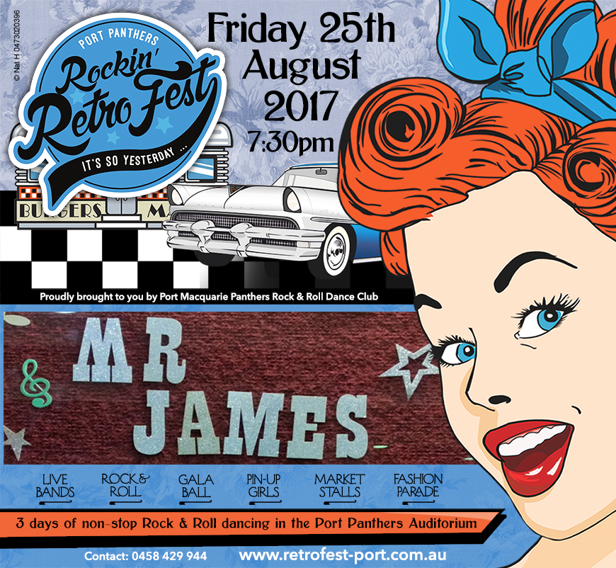 Mr James Band playing Friday Night