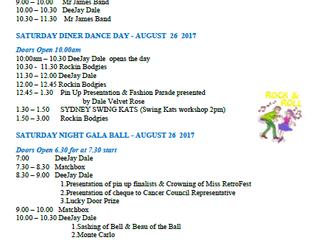 Weekend Programme 2017