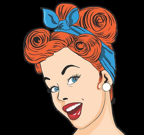 Retrofest Girl Logo