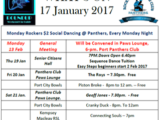 Whats On 17 January 2017