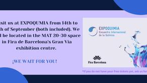 SEE YOU TOMORROW AT EXPOQUIMIA