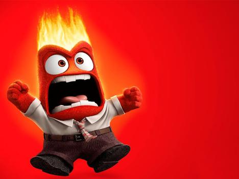 Ahh, que feio ficar com raiva!