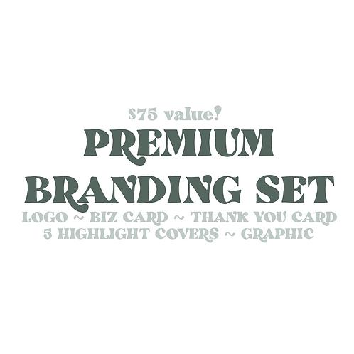 Premium Branding Set