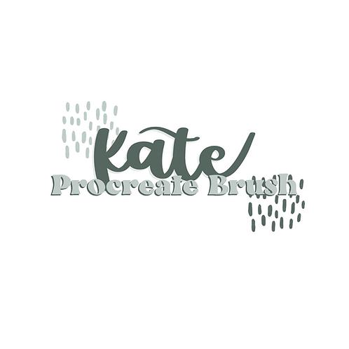Kate Procreate Brush
