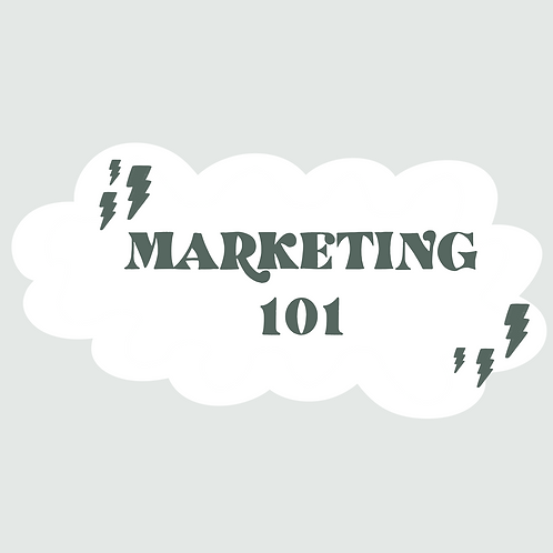 Marketing 101 Video Course