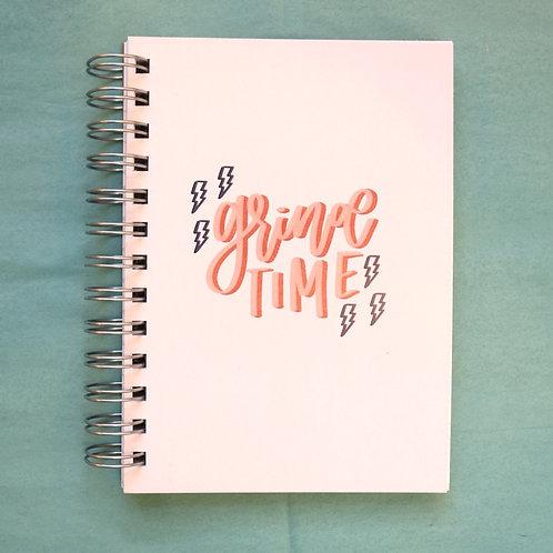Grind Time Notebook