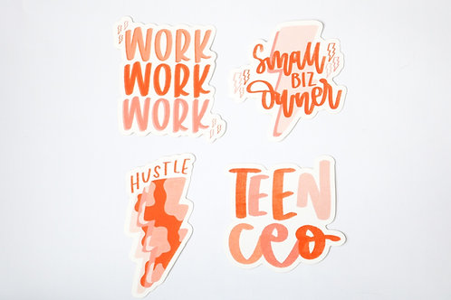 Small Business Sticker Pack