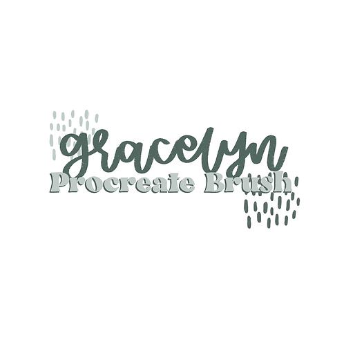 Gracelyn Procreate Brush