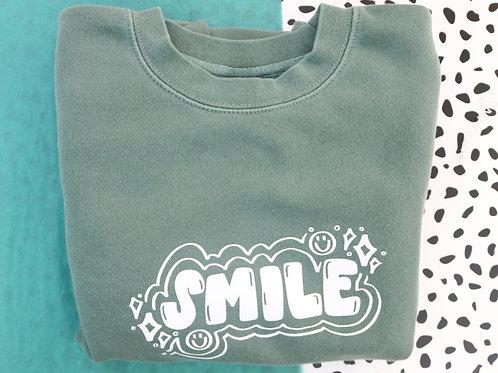 Smile Crewneck Sweatshirt