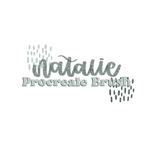 Natalie Procreate Brush