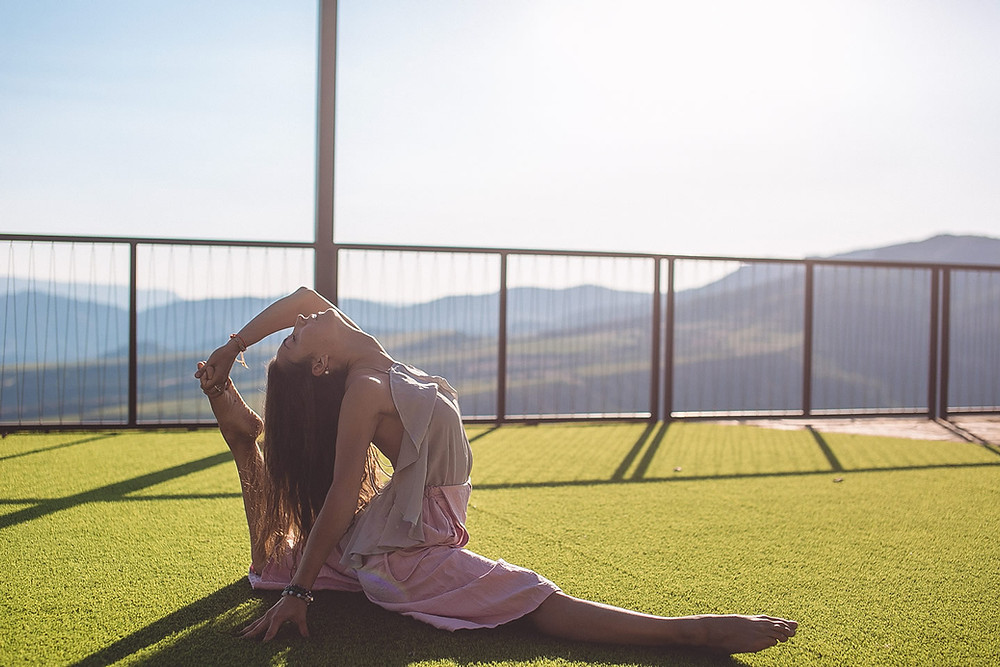 There is more to yoga than being flexible - Meet Yana...