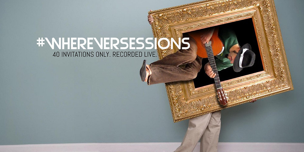 #Wherever Sessions Acoustic Concert