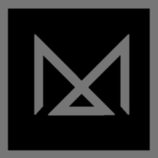 M Logo Silver Transparency 3 color match