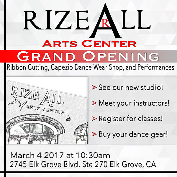 Rize All Arts Center Grand Opening