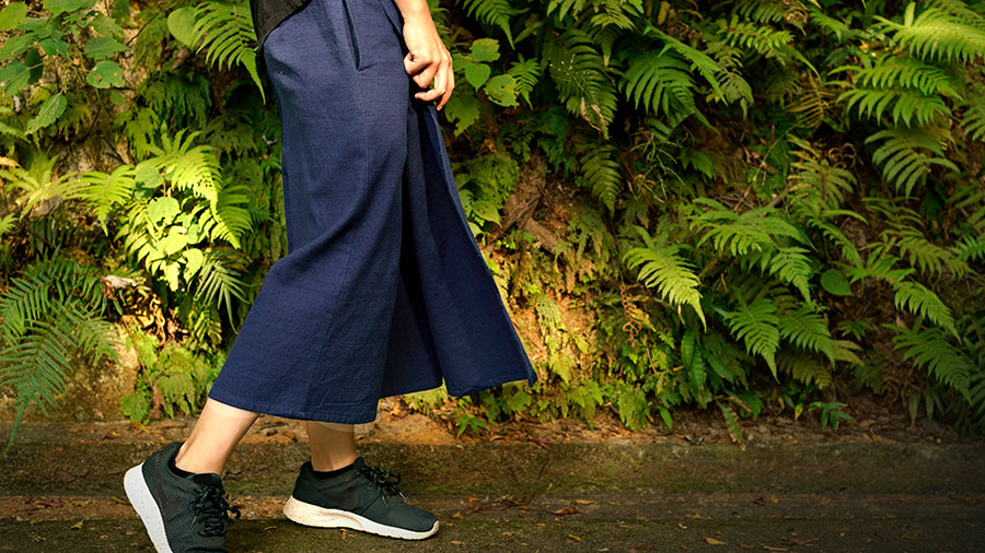 BAMBOO COTTON CULOTTES