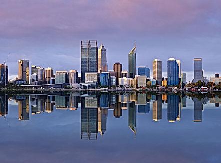 Perth Western Australia Skyline