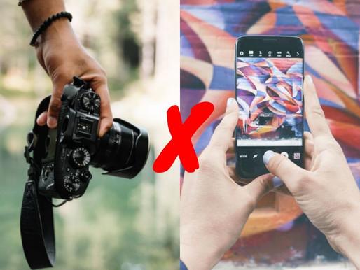 Fotografia: DSLR vs. Smartphone