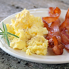 BACON, EGGS, AND TOAST