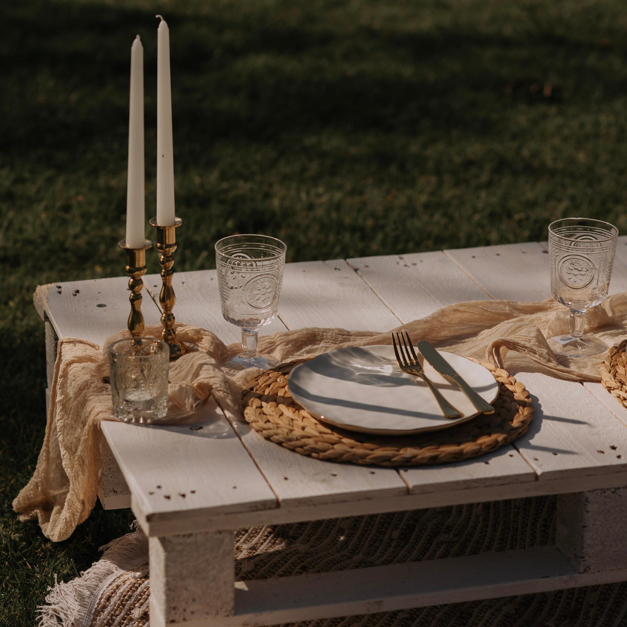 Couples picnic- set up only