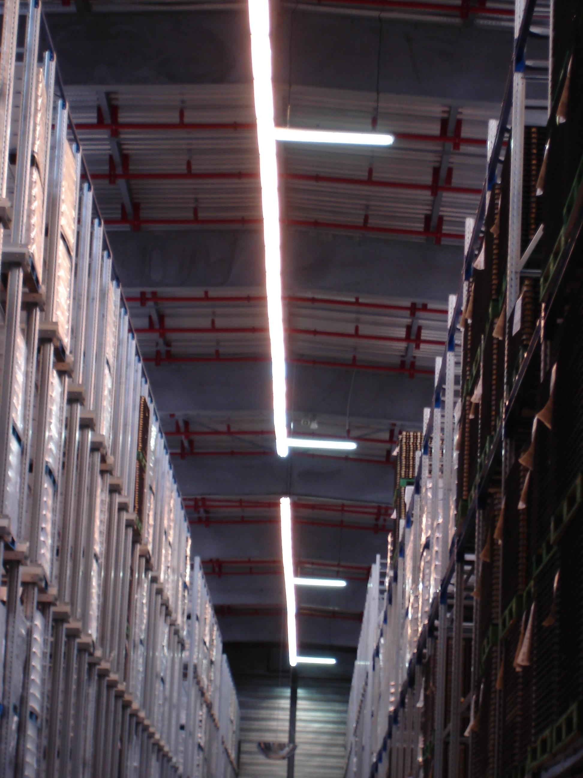 Eclairage Batiment Stockage