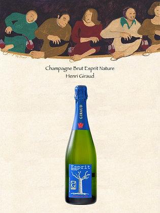 "Champagne Brut ""Esprit Nature"" Henri Giraud"