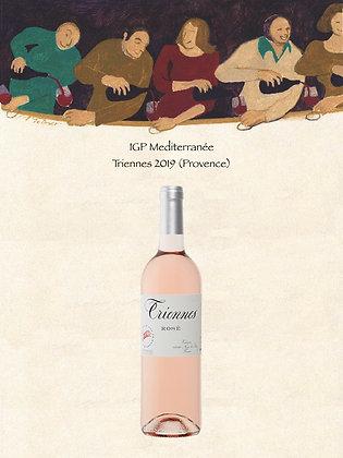 IGP Méditerranée Domaine Triennes 2019 (Provence, Vin rosé)