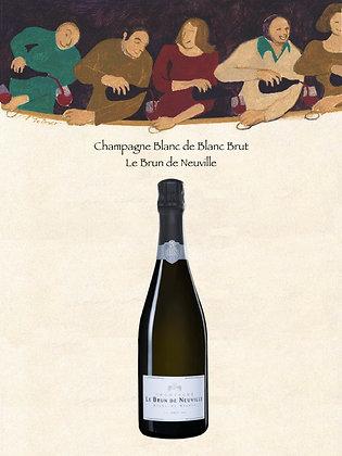 """Champagne Blanc de Blanc Brut """"Le Brun de Neuville"""""""