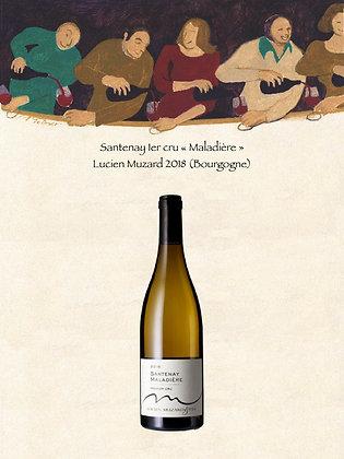 Santenay 1er cru «Maladière» Lucien Muzard 2018 (Bourgogne)