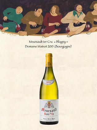 "Meursault 1er Cru ""Blagny"" Domaine Matrot 2015 (Vin blanc)"