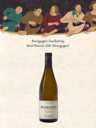 Bourgogne Chardonnay René Bouvier 2016 (Vin blanc)
