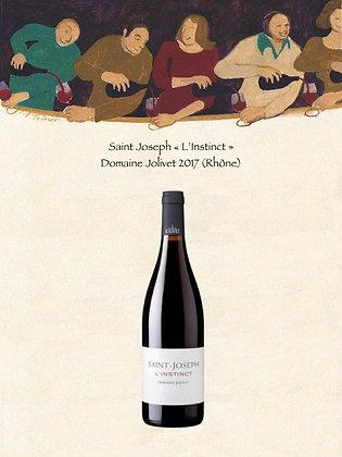 "Saint-Joseph ""L'Instinct"" Domaine Jolivet (Vin rouge)"