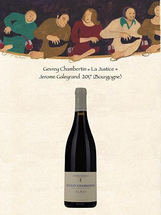 "Gevrey Chambertin ""La Justice"" Jerome Galeyrand 2017 (Vin rouge)"