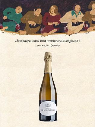 "Champagne Extra Brut 1er Cru ""Longitude"" Larmandier Bernier"