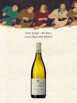 """Saint Joseph """"Ro-Rée"""" Domaine Louis Chèze 2018 (Rhône, Vin blanc)"""