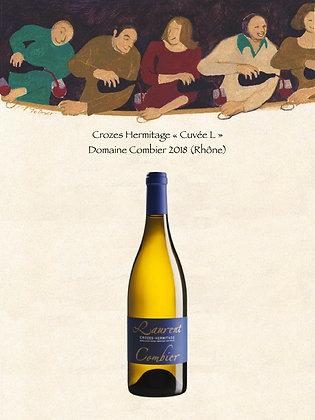 """Crozes Hermitage """"Cuvée L"""" Domaine Combier 2018 (Rhône, Vin blanc)"""