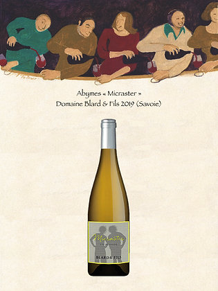 "Abymes ""Micraster"" Domaine Blard 2019 (Savoie, Vin blanc)"