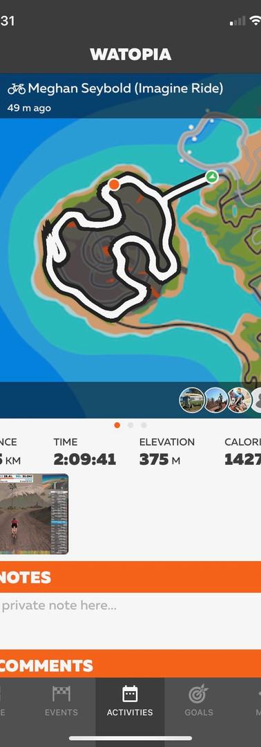 Day 7 - 75.5 KM