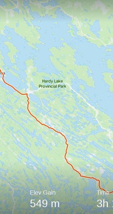 Canada Day Day 21 80.1 KM