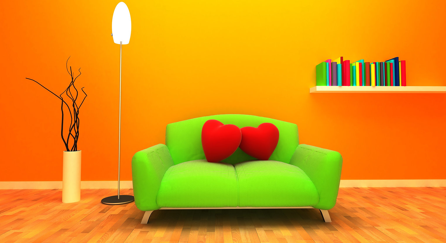 illustration-heart-room-yellow-orange-ci