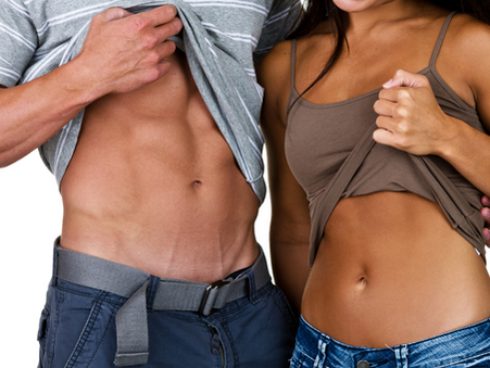 The ONE and ONLY Way to Get Your Abs to Shine Through Like the MVP