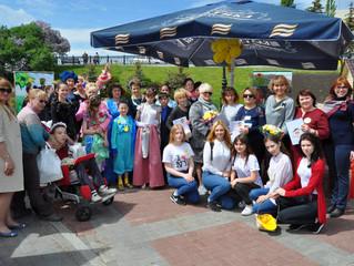 1 июня 2017г. в День защиты детей на площади им.Салавата Юлаева прошел IV Конкурс плетения кос среди