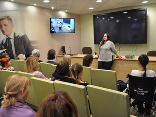 07.11.2017 г. Башкирское отделение ПАО Сбербанк для подопечных нашей организации провели образовател
