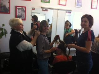 25 мая 2017 года в Центре парикмахерского искусства В.Козловцевой прошли мастер-классы по обучению м